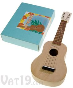 My Ukulele Kit: Build your own DIY ukulele in a matter of hours.