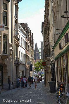 Callejeando por Gante en Bélgica