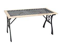 Τραπέζι Ξύλινο/Μαντεμένιο Campus 182-0330