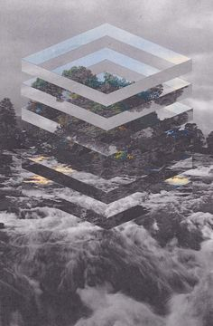 Collages by artist Mowgli Omari