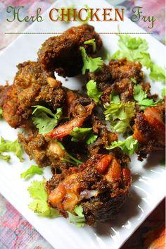 YUMMY TUMMY: Herb Chicken Fry Recipe / Herb Fried Chicken Recipe