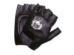 http://motorcyclespareparts.net/xelement-xg351-mens-black-fire-skull-leather-fingerless-gloves-small/Xelement XG351 Mens Black Fire Skull Leather Fingerless Gloves - Small