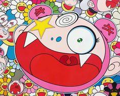 🏵 From the archive 🗝🔑🚪🔥 @takashipom #murakamiarchive #takashimurakami #murakami #takashipom #popart #urbanart #complexcon #arteurbano… Takashi Murakami Prints, Hippie Painting, Art Japonais, Pink Elephant, Designer Toys, Urban Art, Art Boards, Art Inspo, Pop Art
