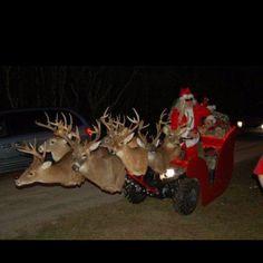 a6eb19c6e Redneck Santa Santa Sleigh
