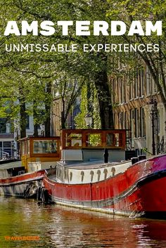 10 of the best things to do in Amsterdam, including top bike tours, canal tours, and food tours + best museums, bars and breweries. Bucket lit travel in Europe. | Travel Dudes Travel Community