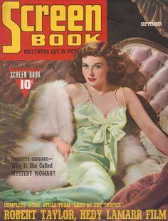 Paulette Goddard Screen Book