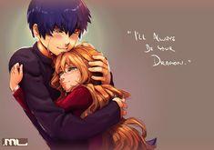 Toradora - Tiger and Dragon by MLeth.deviantart.com on @DeviantArt