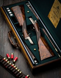 Pair of Westley Richards Hand Detachable lock or Droplock Game Guns with single triggers. I want somday