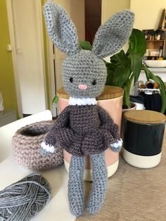 Knitting Pattern-Golfeur chocolat orange couverture ou 15 cms jouet