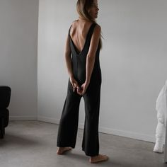e7094cd67acf This knit jumpsuit nods to our iconic romper. Lunya