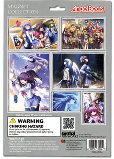 Angel Beats! Magnet Set
