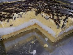 Polish Recipes, Polish Food, Sweets Cake, Baking, Cakes, Cooking Ideas, Drinks, Sweet Stuff, Diet