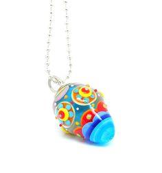 Cosmic Berry Pendant by Carla di Francesco, on Etsy