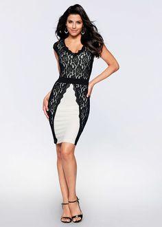 Csipkés ruha Teljesen meggyőző • 10999.0 Ft • bonprix Flirt 43b54c2f54