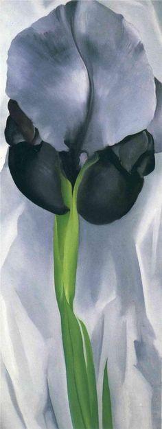GEORGIA O'KEEFFE  Iris (1929)