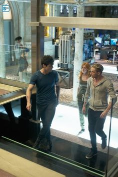 """#Shadowhunters 1x05 """"Moo Shu to Go"""" - Alec, Clary and Jace"""