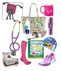 Ultimate nursing survival kit!! Loving the Littman Cardiology III Stethoscope and those cute stethoscope holders. http://www.amazon.com/Mitten-Medical-Professional-Stethoscope-Scrub-Lock/dp/B0187VBMY6/ref=sr_1_4?ie=UTF8&qid=1454977327&sr=8-4&keywords=stethoscope+holder #nurse #nurselife #RN #studentnurse #nursing