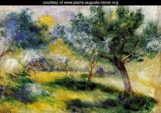 Landscape3 - Pierre Auguste Renoir - www.pierre-auguste-renoir.org