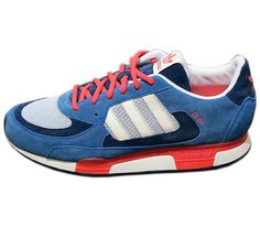 adidas Originals ZX 850 – Lone Blue / Light Grey – Chalk #sneaker