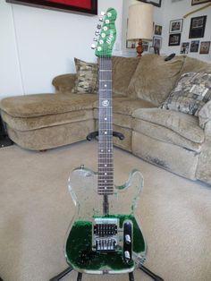 Tele Lucite Wave Guitar