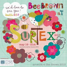 BeeBrown surtex on print & pattern