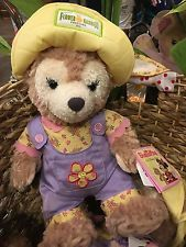 Disney Parks 2016 Epcot Flower and Garden Festival Duffy ShellieMay Bear Limited