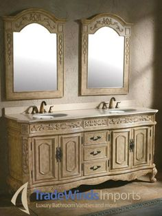 Lovely 90 Double Sink Vanity