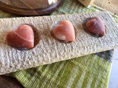 One more day until Valentine's Day. Give the gift of sustainable love. Himalayan Salt Heart Stones.