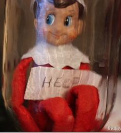 Elf On The Shelf: Stuck In A Snow Globe #elfontheshelf