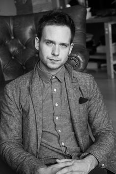 Because our Netflix-watching, pop culture-consuming world loves Patrick J. Adams, and so do we. http://www.thecoveteur.com/patrick-j-adams/