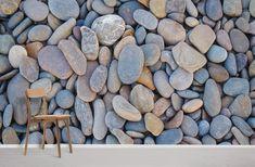 Blue Pebbles - Peel and Stick