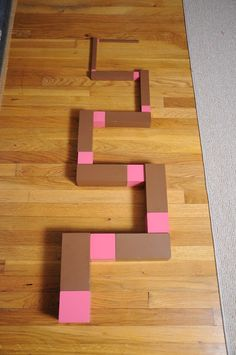 Our Montessori Story: Free Pink Tower/Brown Stair Extensions, Part 2 Maria Montessori, Montessori Preschool, Montessori Education, Preschool Learning Activities, Preschool Crafts, Montessori Practical Life, Tower, Granddaughters, Classroom Ideas