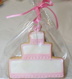 Love Bites Gallery ... ... Cookies ... Cookie - Wedding Cake Pink