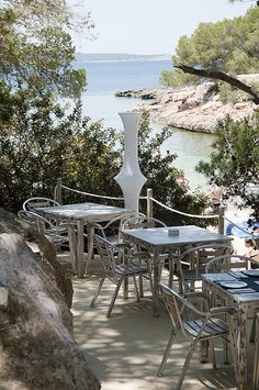 El Chiringuito at Cala Gracioneta, secluded Ibiza beach restaurant