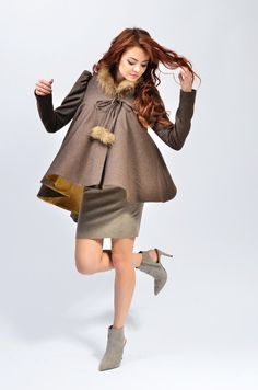 Cora 3 is a unique and elegant jacket wearable with select occasions it has a serious and feminine look that brings personality to your frame.