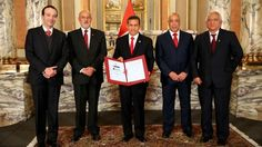 Gobierno firma contrato del proyecto Gasoducto del Sur Peruano