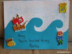 DIY Pirate Party Invites
