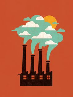 Poster | THE CLOUD FACTORY von Budi Kwan | more posters at http://moreposter.de