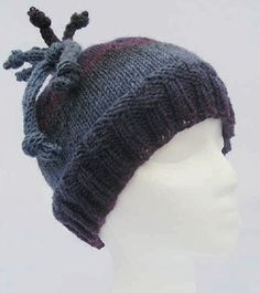 Knit One Crochet Too Curly Q Hat
