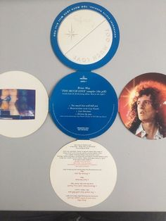 Brian May Queen Too much love will kill you UK blue pill promo CD single RARE