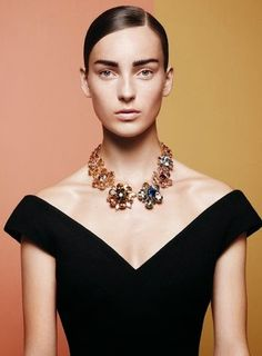 Caroline Trentini & Julia Bergshoeff by David Sims for Vogue US December 2014