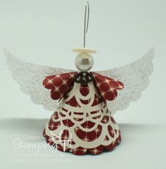 Stampin' Up! Stamping T! - Christmas Angel 2