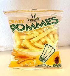 CRAZY Pommes 🍟  Mit Sonnenblemnöl 🌻🌻🌻 #vendosnacks #knabbern #crazy #pommes #snacks #pommes #family #friends #kids #fun  #spaß #familie Snack Recipes, Snacks, Kids Fun, Chips, Abs, Friends, Instagram, Food, Snack Mix Recipes