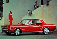 1964...first Mustang!! Hubby's was nearly, exactly, like this one, only a '67!