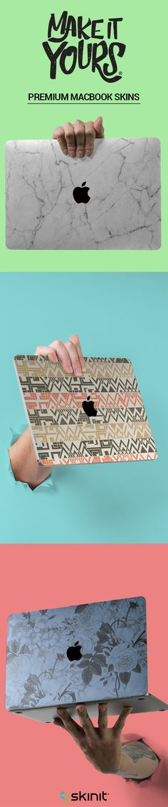Made with precision & built to personalize, find unparalleled perfection with our custom fit Macbook skins. Each MacBook skin is designed with authentic artwork in our in-house studio or collaborated with official pop-culture brands and professional sports teams. Select your MacBook model and choose a design that represents you! #MakeitYours