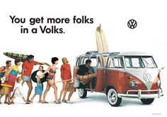 Vintage tips: Life, style and fashion          • Vintage • Advertising • Volkswagen • Cars • 1960s            — the60sbazaar:   Image from a 1960s Volkswagen...