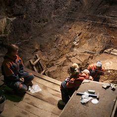 Denisova Cave excavation – Denisovan genome sequence.