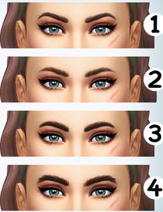 Anonymous said: Which eyebrows Vixella uses in the video - Get famous Answer: Hey hey! I think you can get them HERE! Sims 4 Cc Eyes, Sims 4 Mm, Eyebrows, The Sims 4 Packs, Sims 4 Cc Makeup, The Sims 4 Download, Sims 4 Build, Sims 4 Cc Finds, Christmas Makeup