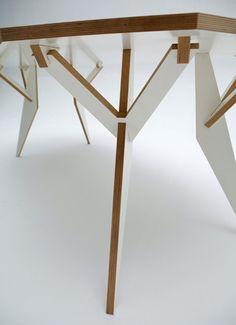 #cnc #furniture #playwood table