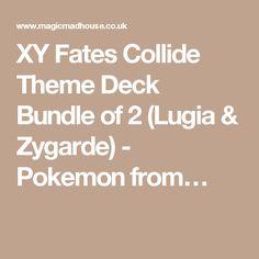 XY Fates Collide Theme Deck Bundle of 2 (Lugia & Zygarde) - Pokemon from…
